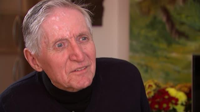 Maida Vale war veteran awarded France's highest honour ENGLAND London INT Mitchell interview SOT