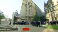 Armistice Day marked Manchester Members of public stand for minute's silence at Armistice Day ceremony