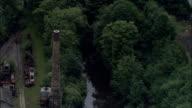 Armley Mills, Leeds  - Aerial View - England, Leeds, United Kingdom