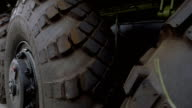 Armored truck wheels