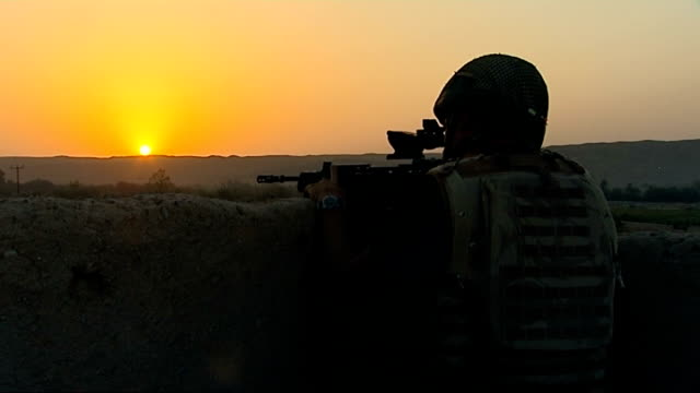Army bullying Defence Secretary announces new Ombudsman DATE Soldiers on patrol at sunset