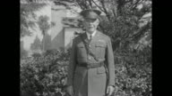US Army Maj Gen James H McRae poses / Note exact year not known