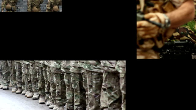 Army & Soldiers Montage