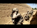 US army soldiers of the 101st Airborne Division Alpha Battery 1320th fought insurgents from Combat Outpost Nolen outside Kandahar as one of the...