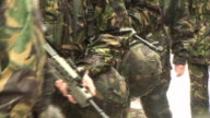 Army Soldiers with Guns 1 - HD