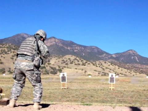 US Army weapons firing range