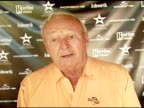 Arnold Palmer on the event battling Prostate Cancer and a golf tip at the Golf Digest Celebrity Invitational at Cabana Club at the Wilshire Country...