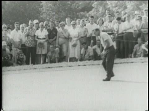 Arnold Palmer wins the 1954 US Amateur Championship