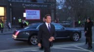 Arnold Schwarzenegger arrives for Gorby 80 at The Royal Albert Hall Arnold on March 30 2011 in London England