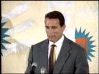 Arnold Schwarzenegger at the 1993 MTV Movie Awards at Universal Amphitheatre in Universal City California on June 5 1993