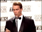 Arnold Schwarzenegger at the 1995 Golden Globe Awards at the Beverly Hilton in Beverly Hills California on January 21 1995
