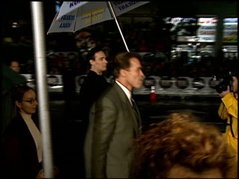 Arnold Schwarzenegger at the 'Daylight' Premiere at Grauman's Chinese Theatre in Hollywood California on December 5 1996