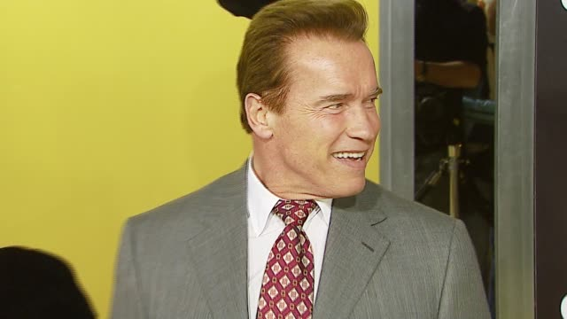 Arnold Schwarzenegger at the MGM's 'Rocky Balboa' World Premiere at Grauman's Chinese Theatre in Hollywood California on December 13 2006