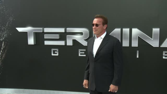 Arnold Schwarzenegger at the Premiere Of Paramount Pictures' 'Terminator Genisys' at Dolby Theatre on June 28 2015 in Hollywood California