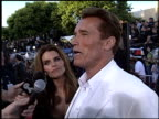 Arnold Schwarzenegger at the 'Terminator 3 Rise of the Machines' Premiere on June 30 2003