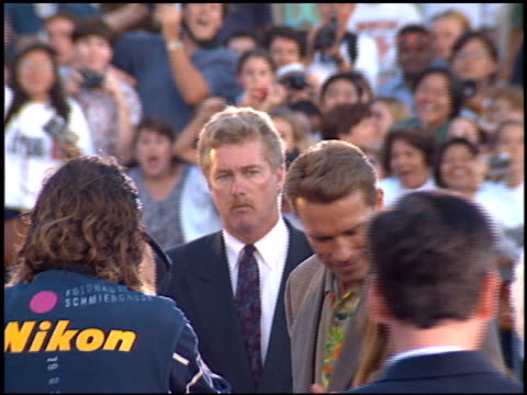 Arnold Schwarzenegger at the 'True Lies' Premiere on July 12 1994