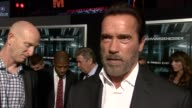 INTERVIEW Arnold Schwarzenegger talks about how he's very happy to do a movie with Sylvester Stallone had a great time filming this movie and how he...