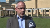 Arnoud van Doorn member of The Hague City Council for Party of the Unity tells journalist about rise of Islamophobia and xenophobia in Netherland on...
