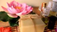aromatherapy massage oil.