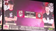 Around 12000 people attend the grand final of LCS the European first division of League of Legends one of the biggest online video games