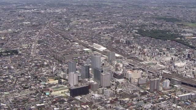 AERIAL, Around Omiya Station, Saitama, Japan