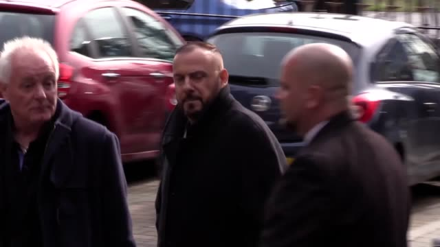 Arrival footage from the funeral of former Coronation Street actress Liz Dawn Includes cast arrivals and the arrival of the funeral cortege including...