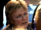 Arrivals at 'Mamma Mia' film premiere Actress Julie Walters as interviewed