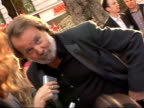 Arrivals at 'Mamma Mia' film premiere Benny Andersson as interviewed on blue carpet