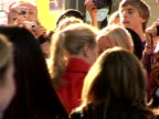 Arrivals at 'Mamma Mia' film premiere Meryl Streep arriving at premiere and back view signing fans autographs