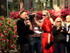 Arrivals at 'Mamma Mia' film premiere Meryl Streep as interviewed by Toby Anstis