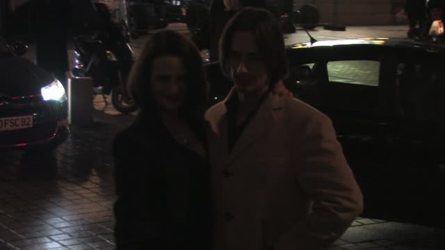 arrive for the Giorgio Armani Prive show as part of the Paris Haute Couture Fashion Week Spring/Summer 2011 at Espace Vendome Asia Argento Husband...
