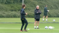 Arsenal FC training ahead of Champions League match More of Arsenal players training including Arshavin Song Samir Nasri Gael Clichy Rosicky Fabregas...