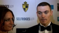 Arsenal footballers attend charity event at Claridge's Thomas Vermaelen and Aimee Van Ommen interview SOT [Van Ommen] On the work the charity does...