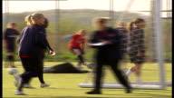 Arsenal Ladies football team training