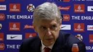 Arsenal manager Arsene Wenger discusses his side's performance after the team claimed a 50 victory over nonleague Lincoln in FA Cup quarterfinals