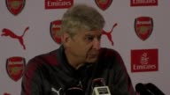 Arsenal manager Arsene Wenger speaks ahead of his side's Premier League match at Stoke The game kicks off at 530pm on Saturday August 19