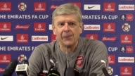Arsenal manager Arsene Wenger speaks ahead of Saturday's FA Cup quarterfinal against Lincoln