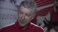 Arsene Wenger discusses winning the FA Cup