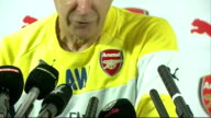 Arsene Wenger press conference on Danny Welbeck signing Wenger press conference SOT Cannot say if Welbeck will start the match on Saturday / On...