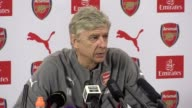 Arsene Wenger's press conference ahead of Liverpool v Arsenal on Saturday Arsenal are 4th in the Premier League one point ahead of Liverpool in 5th