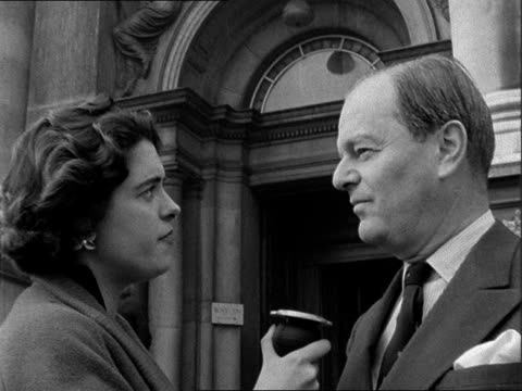 'Art in the Red' interview with Sir Kenneth Clarke ENGLAND London Tate Gallery EXT Sir Kenneth Clarke interview SOF On why the Arts Council is so...