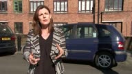 Art project in jewish neighbourhood backfires with accusations of Antisemitism ENGLAND London Stamford Hill EXT People towards on street Reporter to...