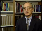 Professor David Isenberg interview SOT The whole class of drugs are being questioned now/ Don't know if the newer drugs like Celebrex will be as...
