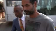 Arthur SimpsonKent pleads guilty to murder of Eastenders actress Sian Blake and children T12011619 / TX Accra EXT Arthur SimpsonKent out of car...