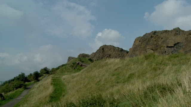 WS, Arthur's Seat, Edinburgh, Scotland, United Kingdom