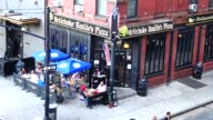 Artichoke Basille's Pizza Bar and Restaurant is a popular eatery on 114 10th Ave and 17th Street Lower Manhattan New York City USA / It is adjacent...