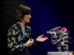 Artificial Intelligence ITN i/c INT Dr Cynthia Breazeal talking to robot Dr Cynthia Breazeal interview SOT Robots will continue to become smarter...
