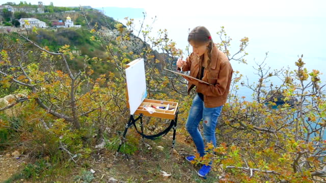 artist on the coast