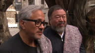Artists Anish Kapoor and Ai Weiwei lead solidarity march for the 60 million refugees across the globe Shows interview with artists about the message...