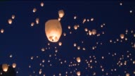 WXMI Artists Mark Carpenter and Dan Johnson hosted an event where thousands of participants released lit chinese lanterns into the night sky on...